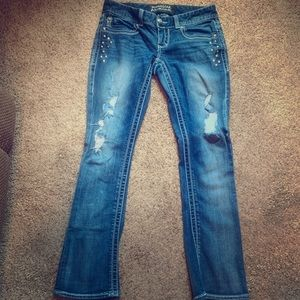 Maurice's premium blue jeans
